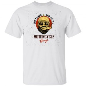 Biker Live To Ride, Ride To Live T Shirts, Hoodies, Long Sleeve