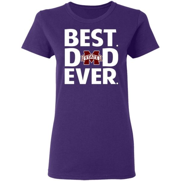 Mississippi State Bulldogs Best Dad Ever T-Shirts, Long Sleeve, Hoodies 9